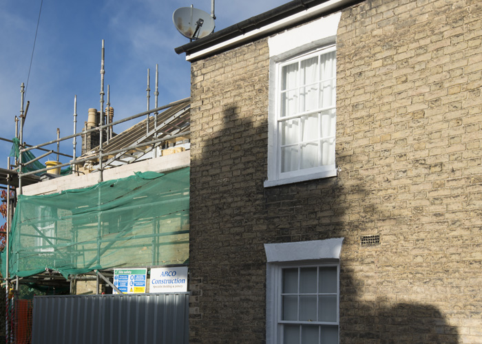 Building works adjoining a Party Wall