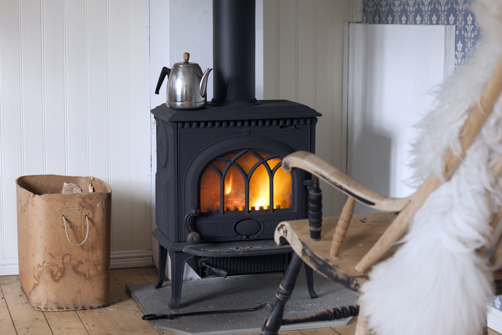 As the cold nights approach, a wood burning stove might well appeal!